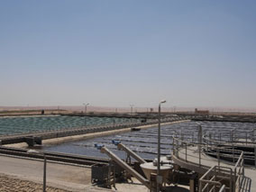 The Waste Water Treatment Plant For 6th Of October City Is Located Approximately 25 Km West Cairo And Treats